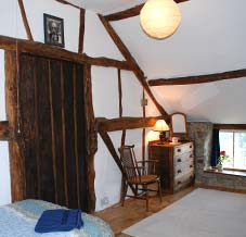 Cottage accommodation - interior