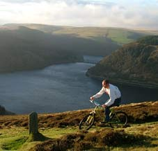 Activities - cycling in the Elan Valley